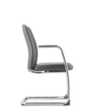 ARONA EXECUTIVE VISITOR CHAIR WITH ARMREST-PU/PVC