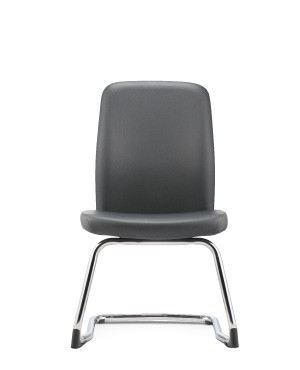 ARONA EXECUTIVE VISITOR CHAIR W/O ARMREST-PU/PVC