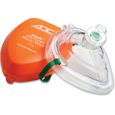 CPR Mask in Hard Case