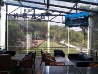 Outdoor roller blinds