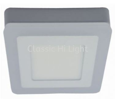 Ledeon 1063 Square 8W+4W LED Surface or Ceiling / wall Light