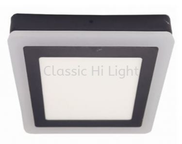 Ledeon 1063 Square 12W+6W LED Surface or Ceiling / wall Light