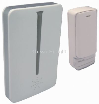 Yetplus A305 Kinetic Touch Digital Wireless Door Bell with LED Indicator