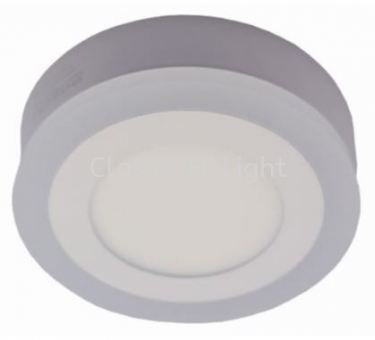 Ledeon 1062 Round 8W+4W LED Surface or Ceiling / wall Light