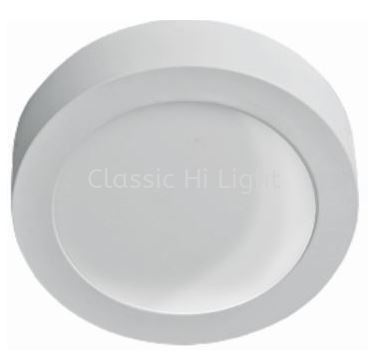LEDEON 1058 12W Round LED Surface Downlight / Ceiling Mounted Light