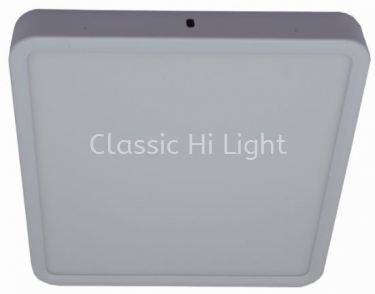 Ledeon Y1057 Square 12W LED Surface or Ceiling / wall Light