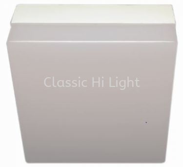 Ledeon 1061 Square 12W LED Surface or Ceiling / wall Light