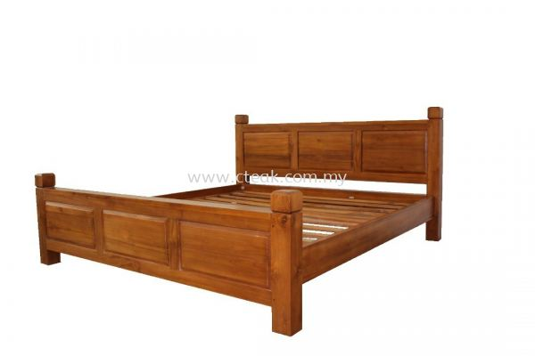 Panel Bed Queen Size