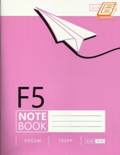 Kami - F5 Note book 100pages - (9650F)