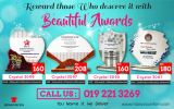 Reward those Who deserve it with Beautiful Awards...