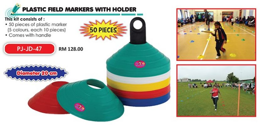 PJ-JD-47 Plastic Field Markers With Holder