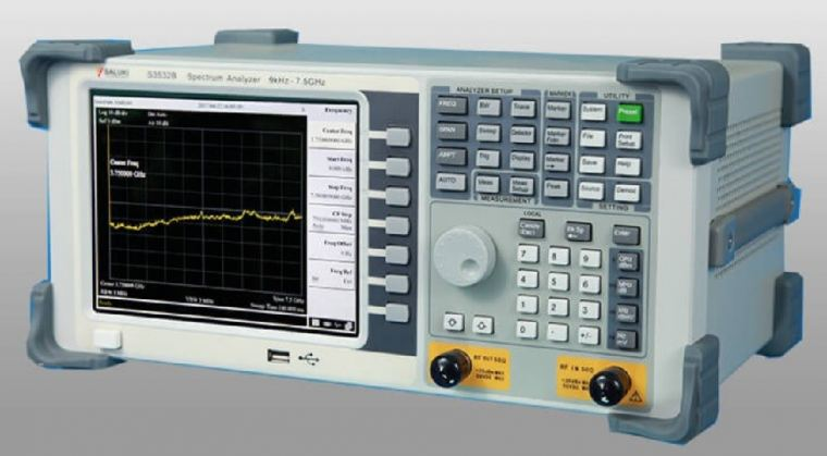 S3532A Spectrum Analyzer (9kHz - 3.6GHz) Spectrum Analyzer SALUKI TECHNOLOGY