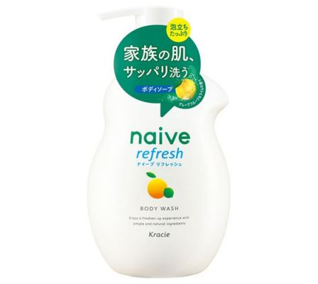 Naive Refresh Body Soap - Sea Mud Extract-530ml