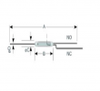 KSK-1C90U (Reed Switches) Standex