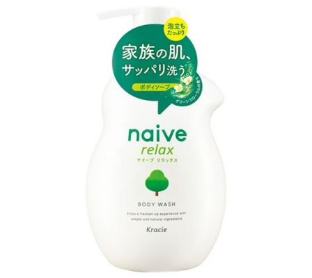 Naive Relax Body Soap -Theanine Extract-530ml
