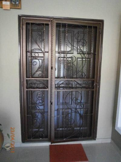 Wrought Iron Door Grille Selangor / Klang Valley
