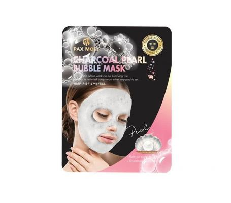 Pax Moly Charcoal Pearl Bubble Mask Pack