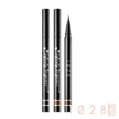 1028 Infinity Longwear Liquid Eyeliner-01 Black/02 Brown/03 Chocolate