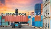 container truck Forwarding and Custom Clerance Services