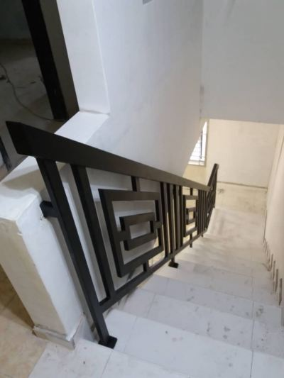 METAL RAILING AND SPIRAL STAIRCASE 114