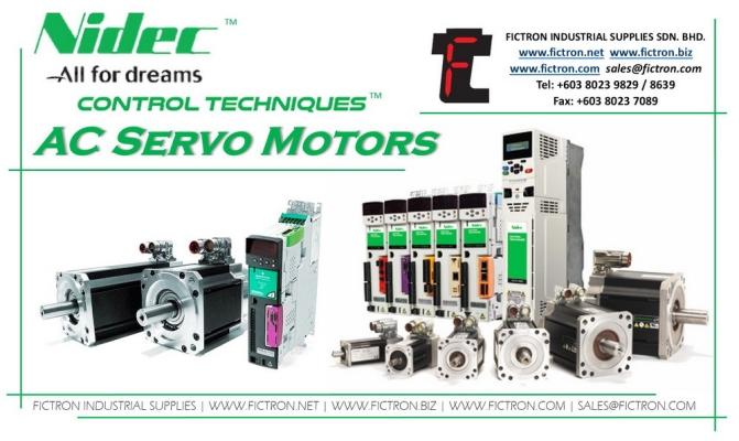 NTM-312-L0NS NT Servo Motor NIDEC CONTROL TECHNIQUE AC Servo Motor Supply & Repair Malaysia Singapore Thailand Indonesia