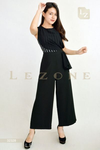 32328 STRIPED TOP JUMPSUIT��1st 10% 2nd 20% 3rd 30%��
