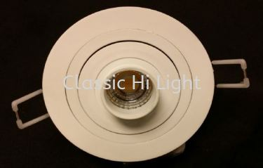 Imitos / Oritz Round / Square LED Eyeball / Recessed Spot Light