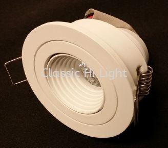 Oritz RD50 Round Recessed LED Eyeball Or Spot Light