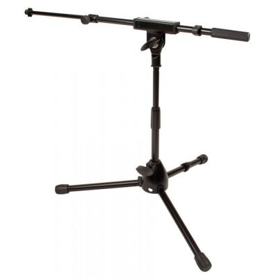 JS-MCTB50 Short Mic Stand with Telescoping Boom