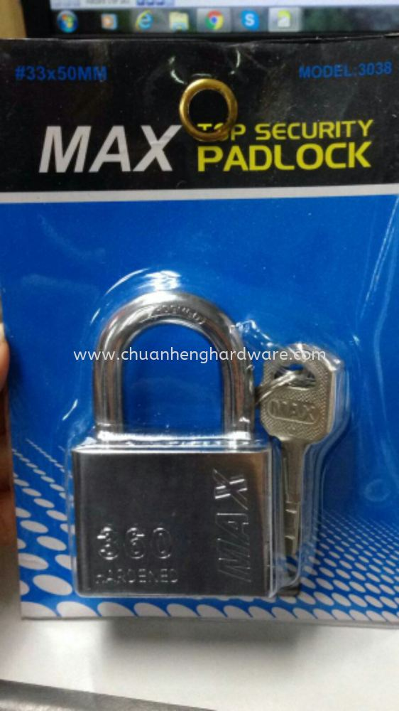 Top security lockset