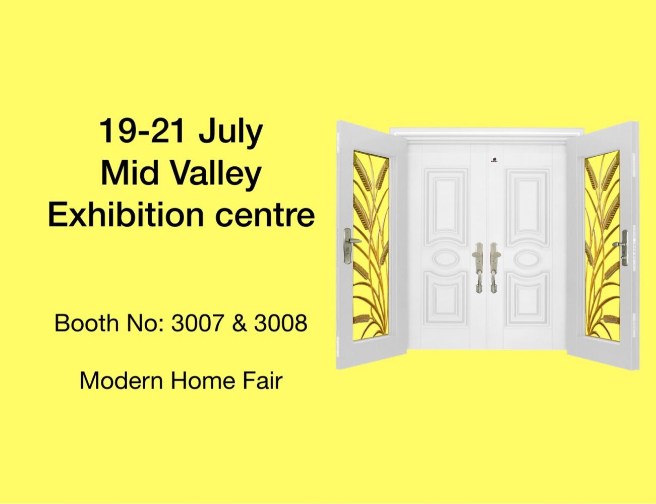 Exhibition At Mid Valley On 19th - 21th July 2019 (Modern Home)
