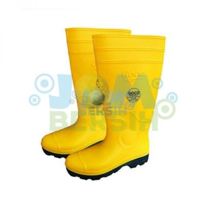 980 Yellow Black Goco Boots