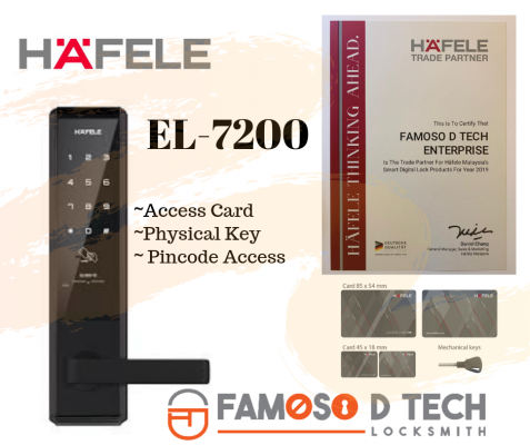 Hafele Digital Lock EL-7200