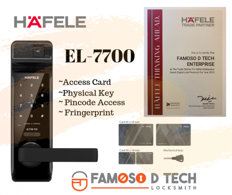 Hafele Digital Lock EL-7700