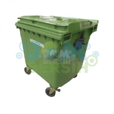 4 Wheel Waste Bin - Mobile garbage bin (Evolution) 1100 liter