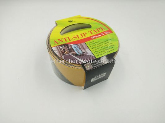 50mm x 5M ANTI SLIP TAPE (BLACK/YELLOW)