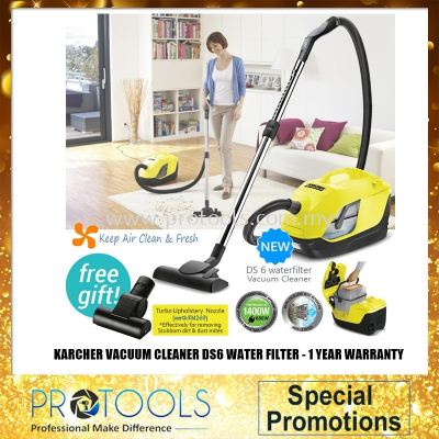 Karcher Water Filter Vacuum Cleaner DS6 FOC POWER NOZZLE