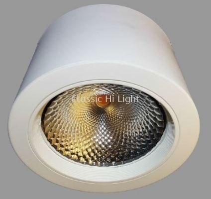Oritz ERD180 50W Round LED Surface Downlight / Ceiling Mounted Light