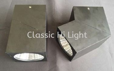 Oritz L03046 20W Square LED Surface Downlight / Ceiling Mounted Light