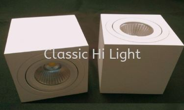 Imitos ESQ83 10W Square LED Surface Downlight / Ceiling Mounted Light
