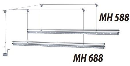 MH588 Manual Ceiling Hanger  Clothes Hanger