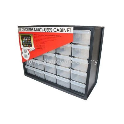 25 Drawers Multi Use Cabinet