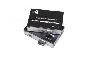 FIBER VIDEO MEDIA CONVERTER HDMI EXTENDER TX/RX