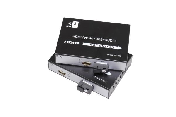 FIBER VIDEO MEDIA CONVERTER HDMI EXTENDER TX/RX
