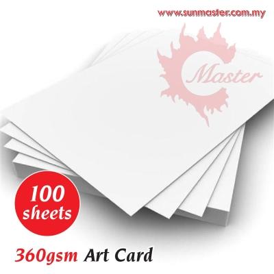 A4 360gsm Art Card (100s)