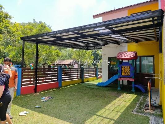 Industrial Roofing @Tadika Melody, Bandar Kinrara Puchong, Selangor