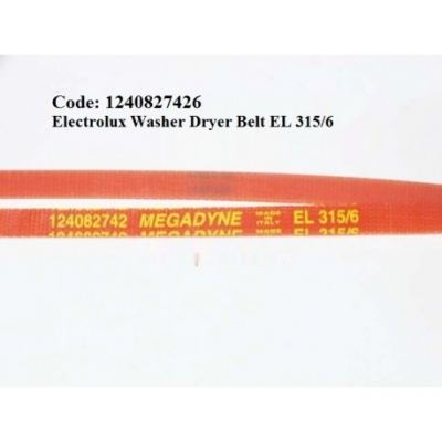 Code: 1240827426 Electrolux Washer Dryer Belt