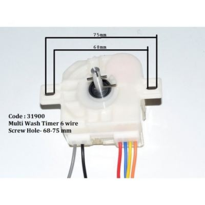Code: 31900 Multi Wash Timer 6 Wire