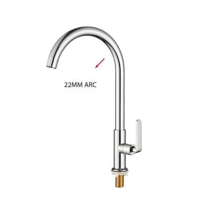 SL   2113NT-22BD 22 ARC -PILLAR SINK TAP-00919BE