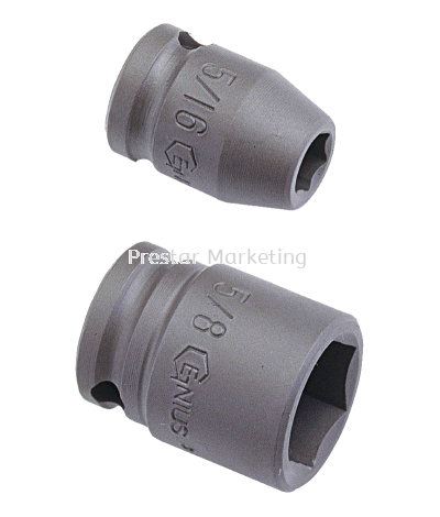 "(G01-06) 1/2"" IMPACT SOCKET (6 POINT)"